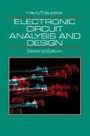 9788172245313: Electronic Circuit Analysis and Design
