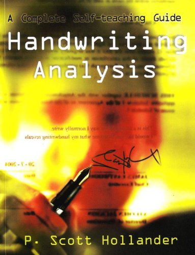 Handwriting Analysis (A Complete Self-Teaching Guide): P. Scott Hollander
