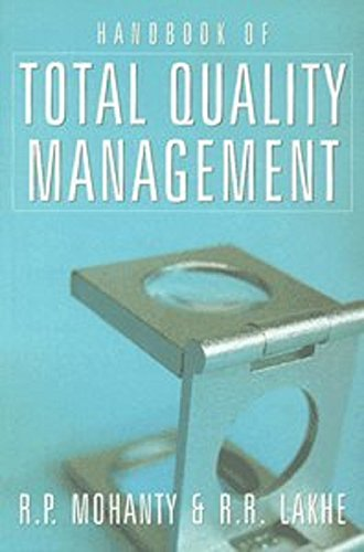 Handbook of Total Quality Management (Paperback): R. P. Mohanty,