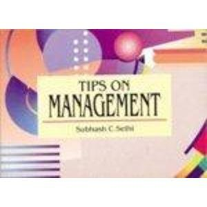 9788172248369: Tips on Management