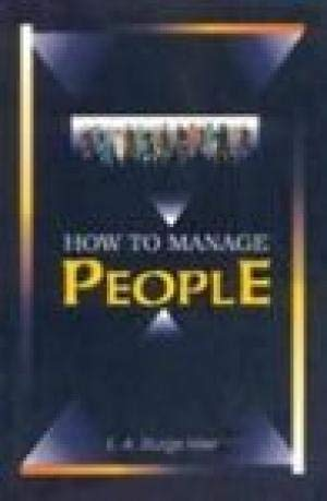 9788172248772: How to Manage People
