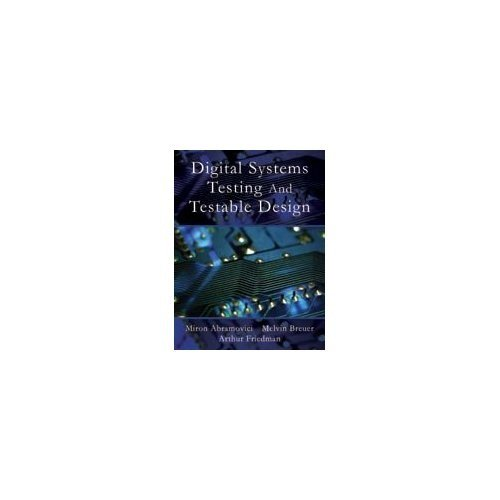 9788172248918: Digital Systems Testing and Testable Design