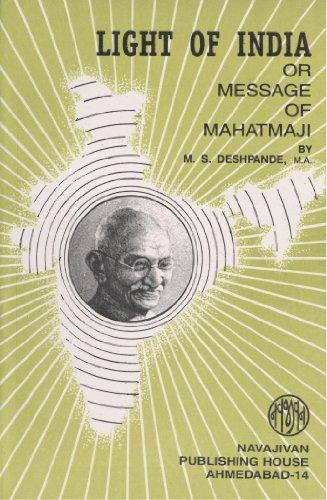 9788172293109: Light Of India Or Message Of Mahatmaji