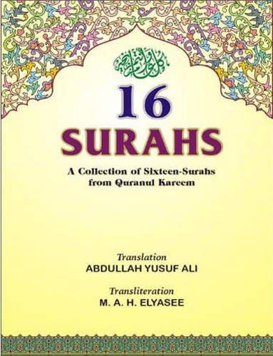 9788172311773: Sixteen Surahs