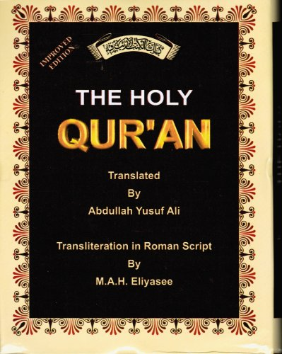 9788172315702: The Holy Quran: Transliteration in Roman Script with Orginal Arabic Text