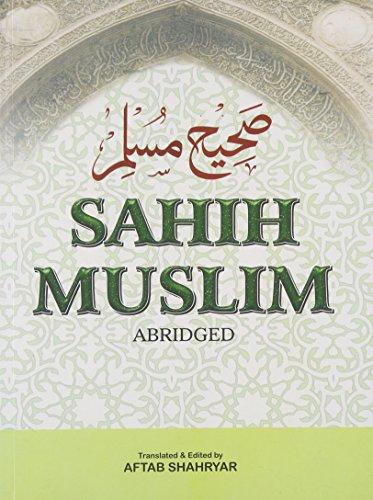 Sahih Muslim = Sahih Muslim: Shahryar Aftab