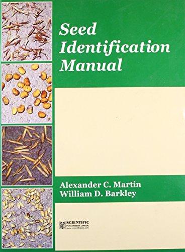 Seed Identification Manual: Barkley William D.