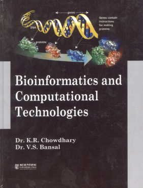 Bioinformatics and Computational Technologies: K.R. Chowdhary