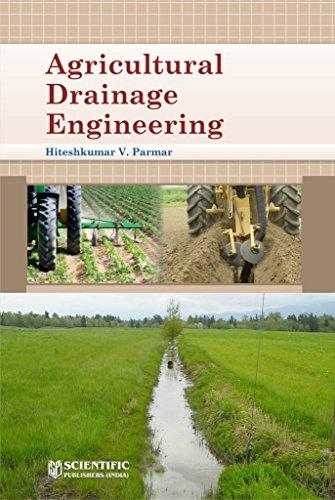 Agricultural Drainage Engineering: Hiteshkumar V. Parmar