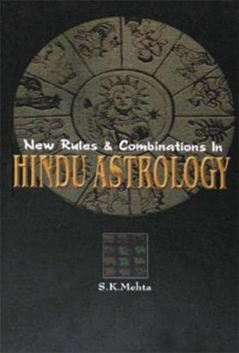 9788172340834: New Rules and Combinations in Hindu Astrology