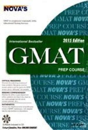 9788172345006: Nova Gmat Prep Course 2015 Edition