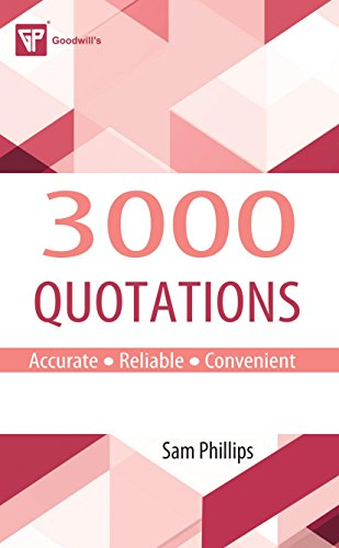 3000 Quotations: Sam Phillips