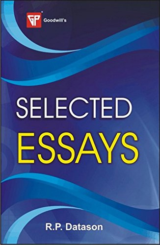 Selected Essays: R.P. Datason