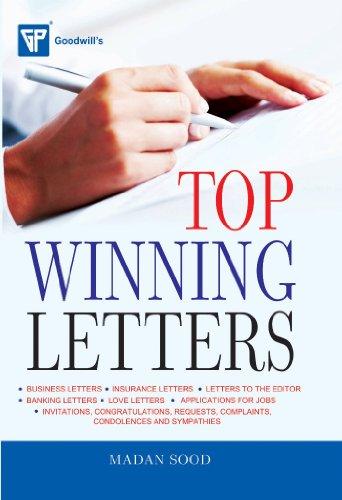 Top winning Letters: Madan Sood