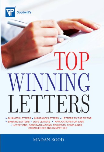 9788172450403: Top Winning Letters