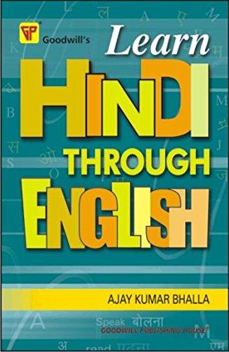 9788172450533: Learn Hindi Through English