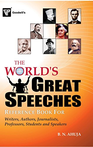 9788172450670: The World's Great Speeches