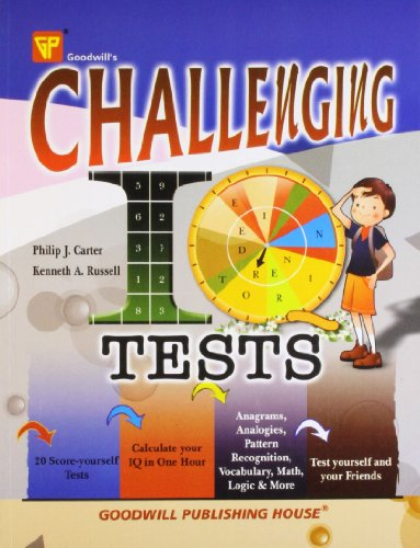 9788172452001: Challenging IQ Tests