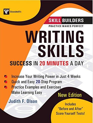 Writing Skills : Success in 20 Minutes: Judith F. Olson