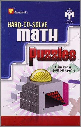Hard-to-Solve Math Puzzles: Derrick Niederman