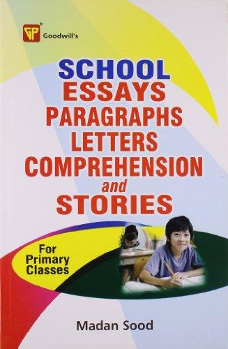 Schools Essays, Paragraphs, Letters, Comprehension: Telegrams and: Sood, Madan