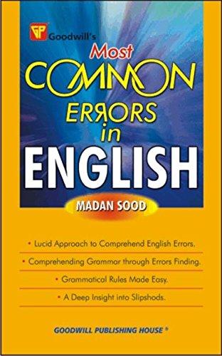 Most Common Errors in English: Madan Sood