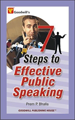 9788172454579: 7 Steps to Effective Public Speaking