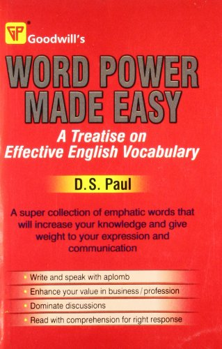 Word Power Made Easy: D.S. Paul