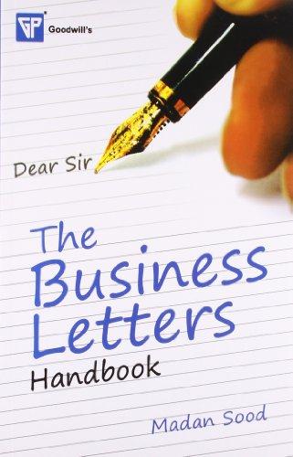 The Business Letters Handbook: Madan Sood