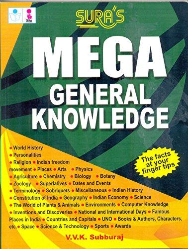9788172541514: Mega General Knowledge Quiz