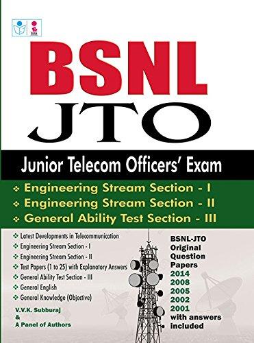 9788172541927: BSNL JTO Exam