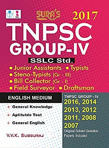 9788172542832: TNPSC Group-IV: S.S.L.C. Standard Latest Syllabus