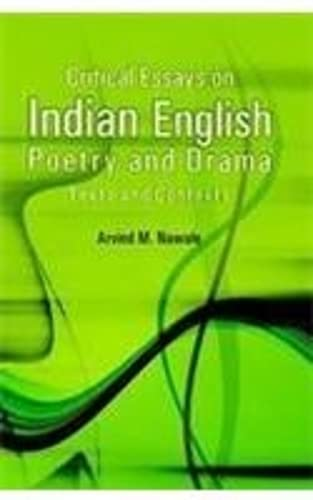 Critical Essays on Indian English Poetry and