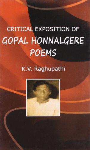 Critical Exposition of Gopal Honnalgere Poems: Raghupathi K.V.