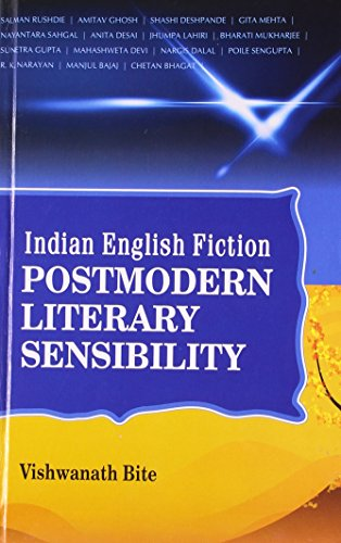 9788172736774: Indian English Fiction: Postmodern Literary Sensibility