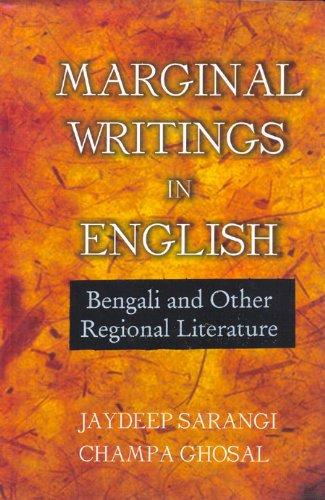 Marginal Writings in English: Ghosal Champa Sarangi
