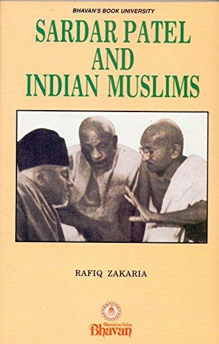 9788172760823: Sardar Patel and Indian Muslims
