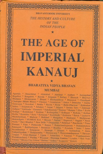 9788172764319: The History and Culture of the Indian People: Volume 4. The Age of Imperial Kanauj