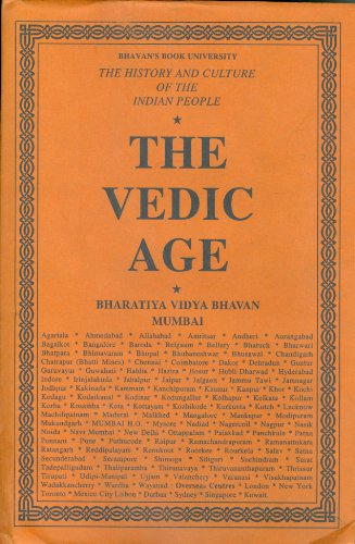 The Vedic Age (The History And Culture: R.C. Majumdar