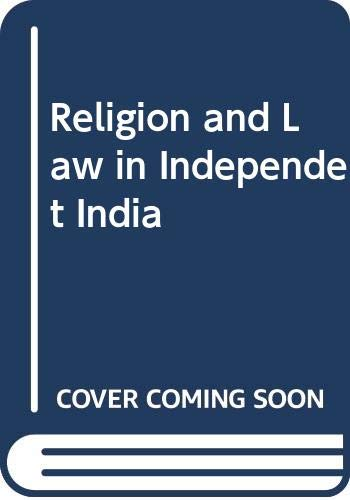 Religion and Law in Independent India: Baird, Robert D.,