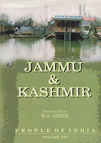 People of India, Vol. XXV: Jammu and Kashmir: K.S. Singh