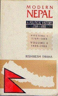 9788173041501: Modern Nepal: A Political History 1769-1955