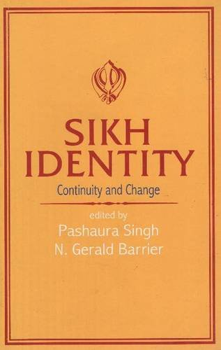 9788173042362: Sikh Identity- Continuity and Change