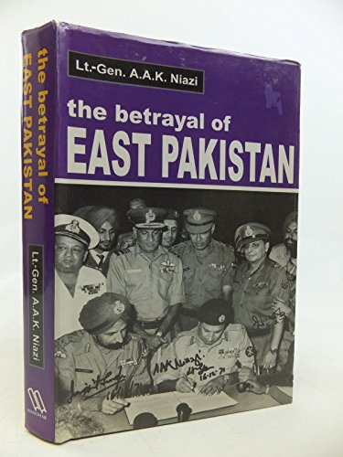 9788173042560: The Betrayal of East Pakistan