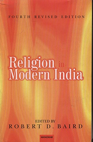 9788173042737: Religion in Modern India, PA. 4th Revised Edition