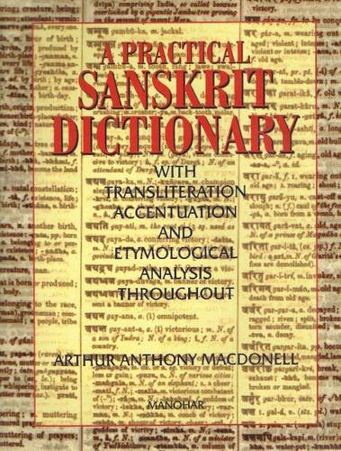 9788173043031: Practical Sanskrit Dictionary: With Transliteration, Accentuation and Etymological Analysis Throughout