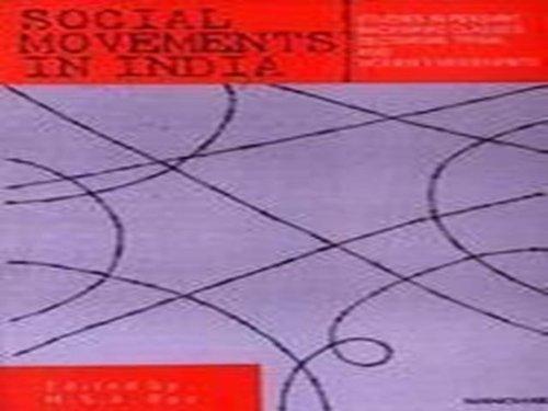 Social Movements in India: Studies in Peasant,: Rao, M. S.