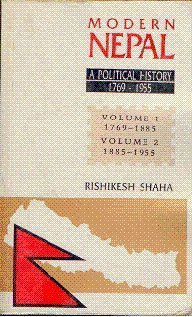 9788173044038: Modern Nepal: A Political History, 1769-1955