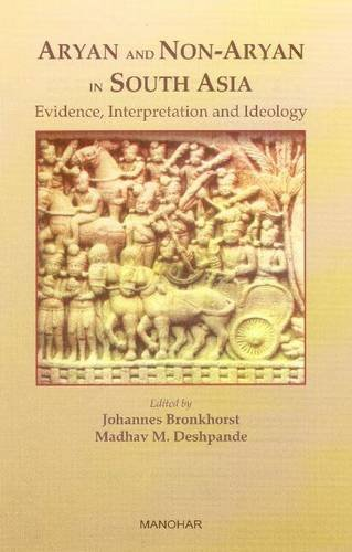 9788173049187: Aryan and Non-Aryan in South Asia: Evidence, Interpretation and Ideology