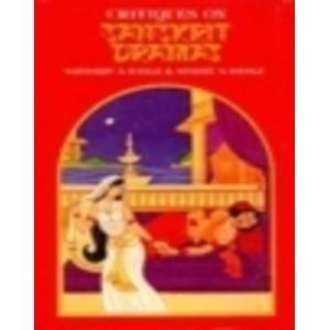 Critiques on Sanskrit Dramas: Sadashiv A. Dange & Sindhu S. Dange